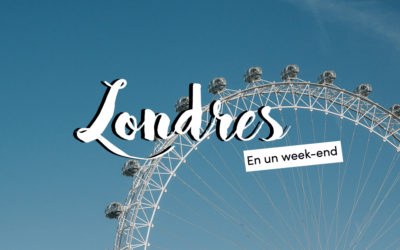 Un week-end à Londres
