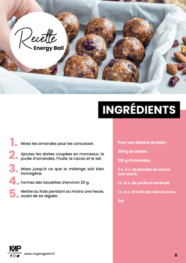 recette energy ball