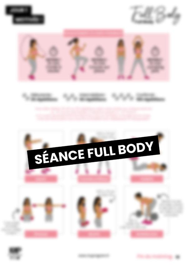 séance de full body